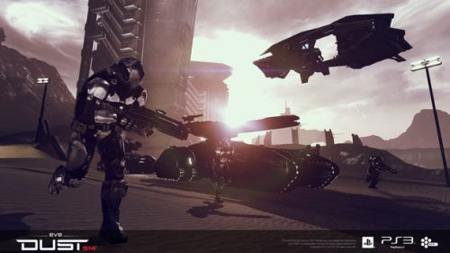 Jump into the Dust 514 beta with the $20 Mercenary Pack