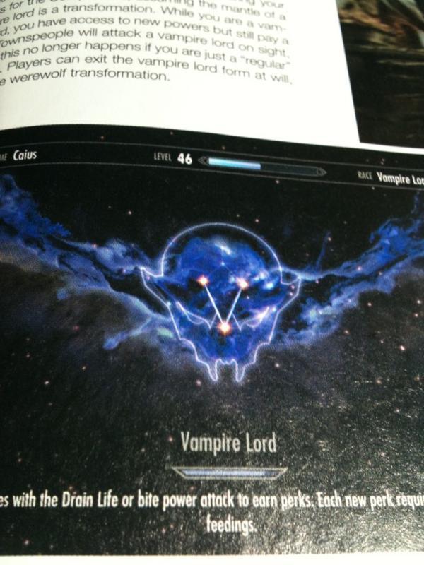 Skyrim Vampire Skill T...