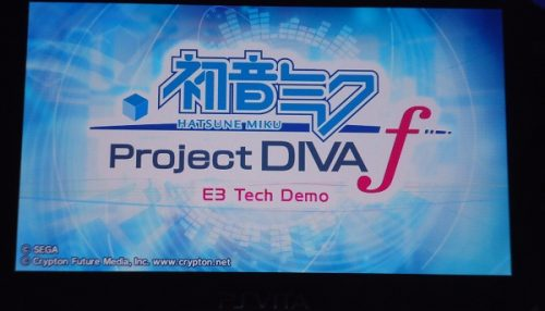Hatsune Miku Project Diva f E3 2012 Hands-On Preview