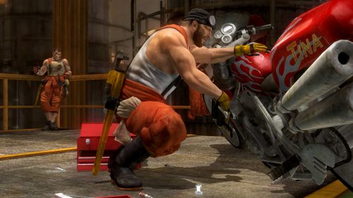 Dead or Alive 5's Rig takes on Christie and Bass in his first gameplay trailer