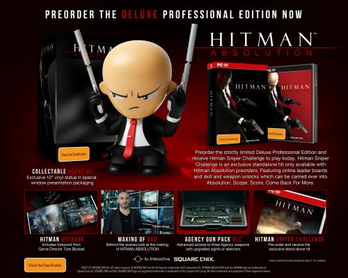 Hitman Absolution Deluxe Professional Edition Details