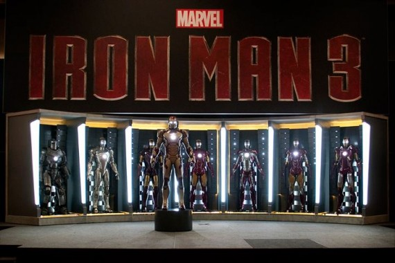Iron Man Suit Collection Iron Man 3 Suit Revealed