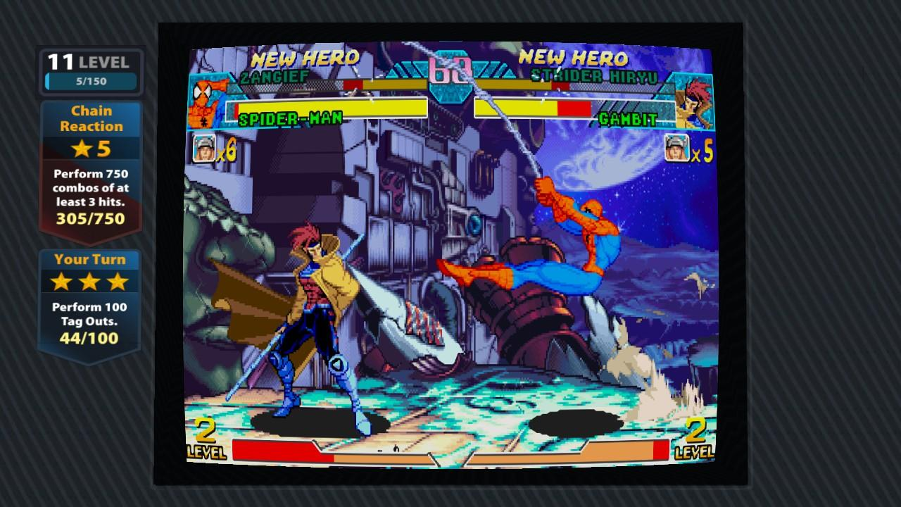 The new Marvel Vs. Capcom Origins compilation features both classic