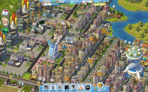 SimCity Social Open for Business on Facebook