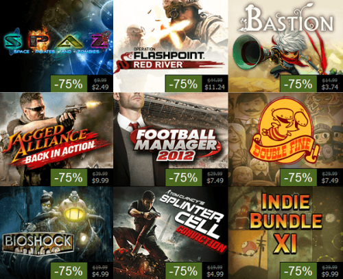 The final day of Steam Summer Sales revealed