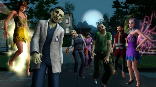 Sims 3 Supernatural Zombies and Fairies Details
