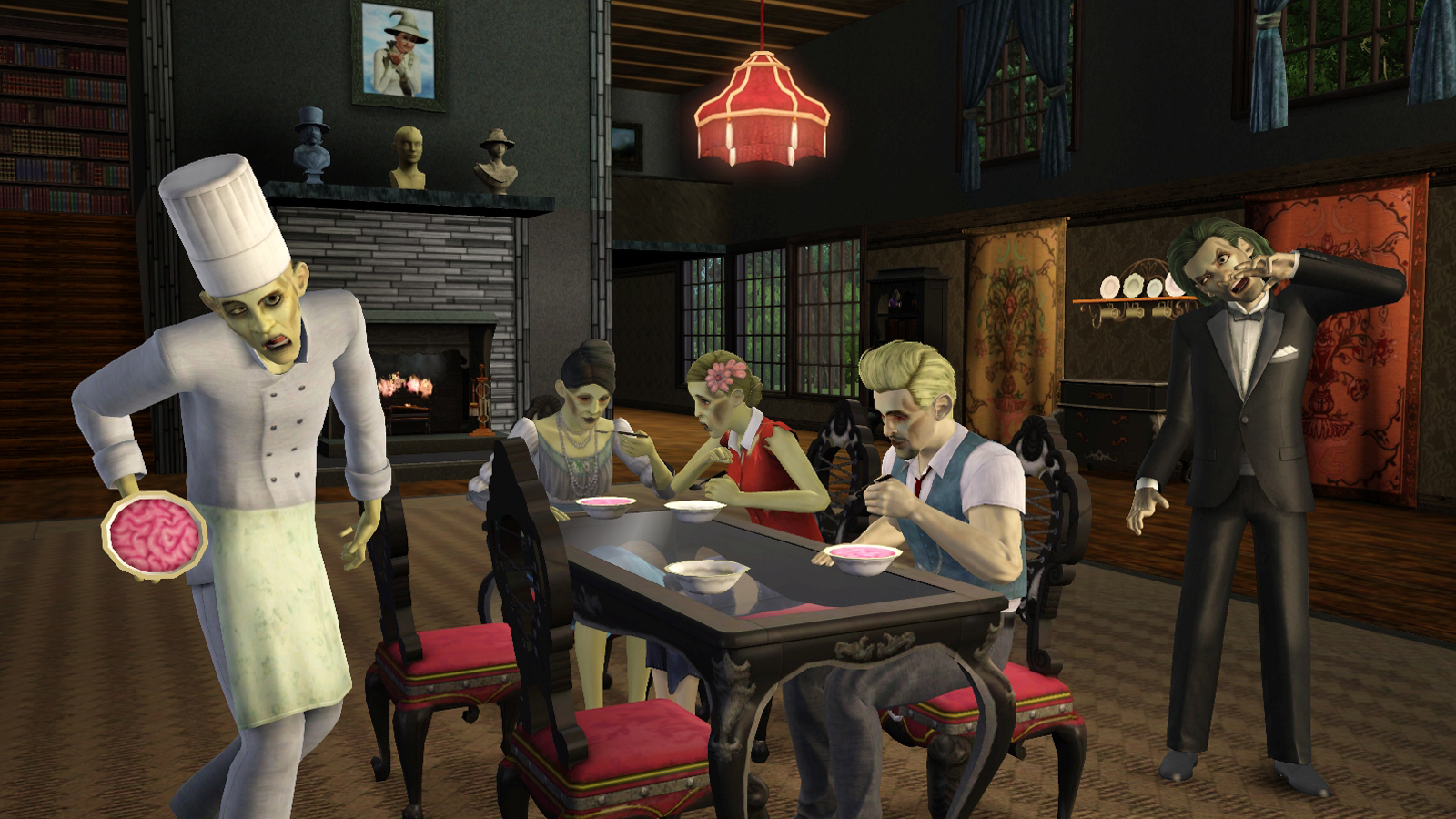Sims 3 Supernatural Zombies and Fairies Details.