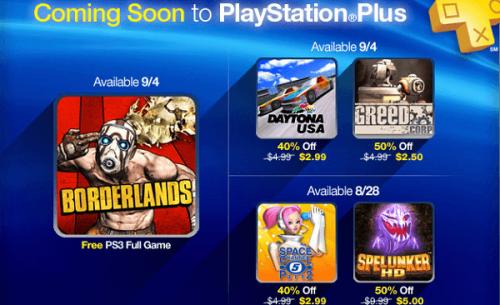 Borderlands arrives on PlayStation Plus next week