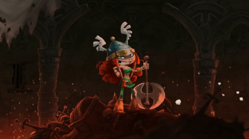 New Rayman: Legends character revealed as Barbara the viking