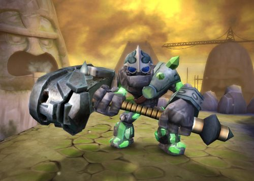Skylanders Giants reveal Crusher