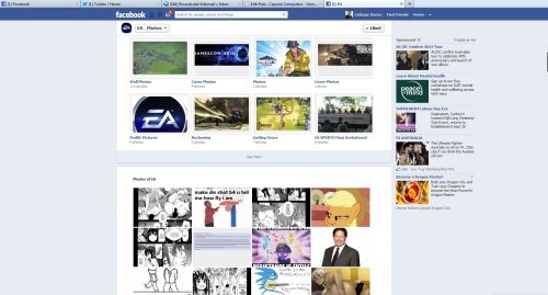EA Trolled Over Facebook [NSFW]