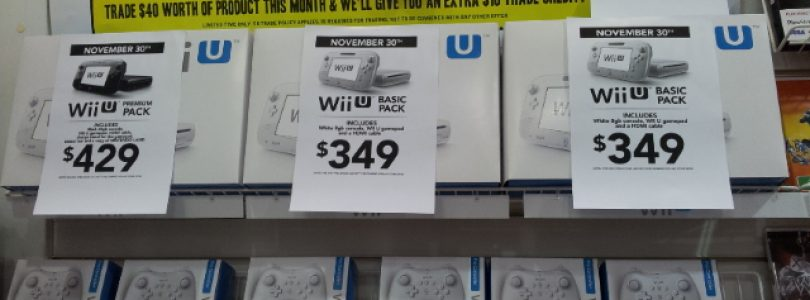 EB Games Releases Its Wii U Pricing
