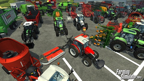 Want to Drive a Lamborghini? Farming Simulator 2013 to the Rescue