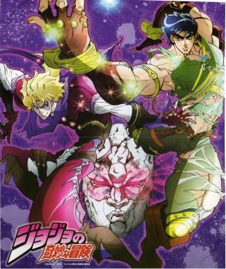 Jojo's bizarre adventure Jojos-bizarre-adventure-anime-poster-319x380