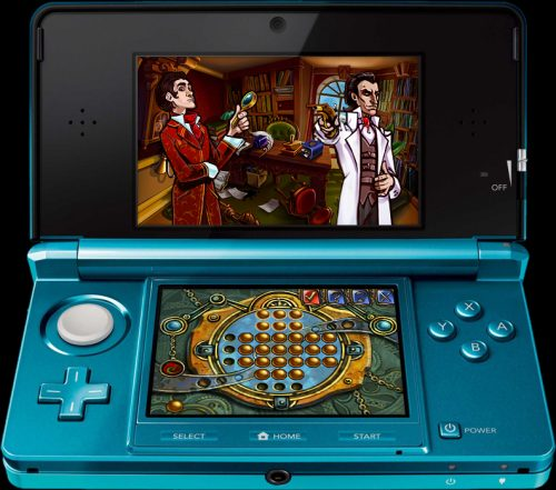 New Screens Released for 3DS Sherlock