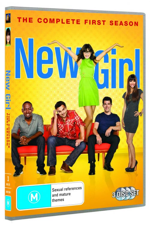 Don Your Hipster Glasses! New Girl Season 1 on DVD