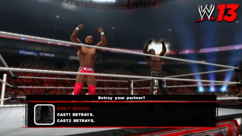 Universe Mode Returns in WWE '13