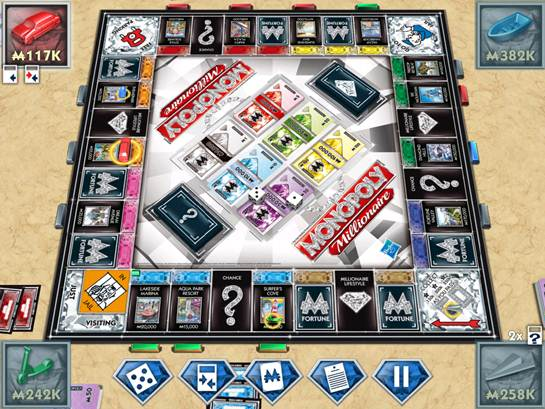monopoly millionaire card game how to play