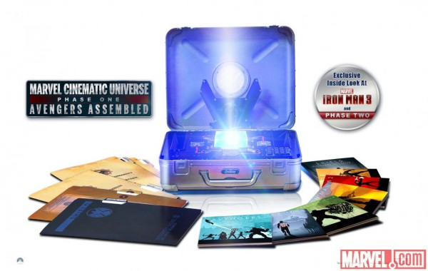 Marvel phase one box set gets phase two preview