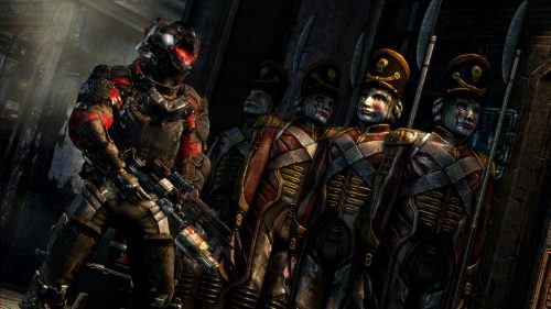 Latest Dead Space 3 screenshots reveal some scary co-op sequences