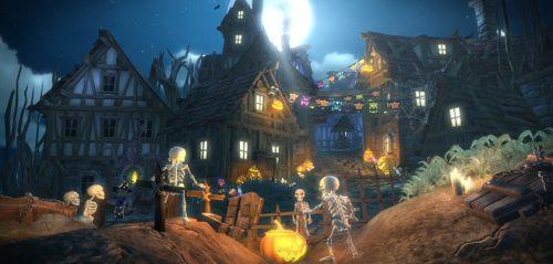 Gameglobe goes Beta for Halloween