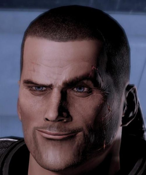 Some Black Ops II shipped with Commander Shepard