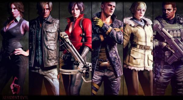 Resident Evil 6 cast