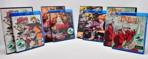 Viz Media details their holiday anime release schedule