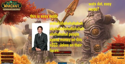 Easy Mode MMOs