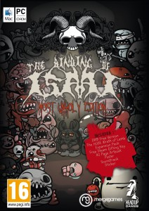 binding of isaac box art most unholy