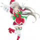 Nyaruko-san wishes everyone a Happy Space Christmas