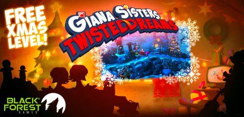 Giana Sisters Christmas Freebie Announced