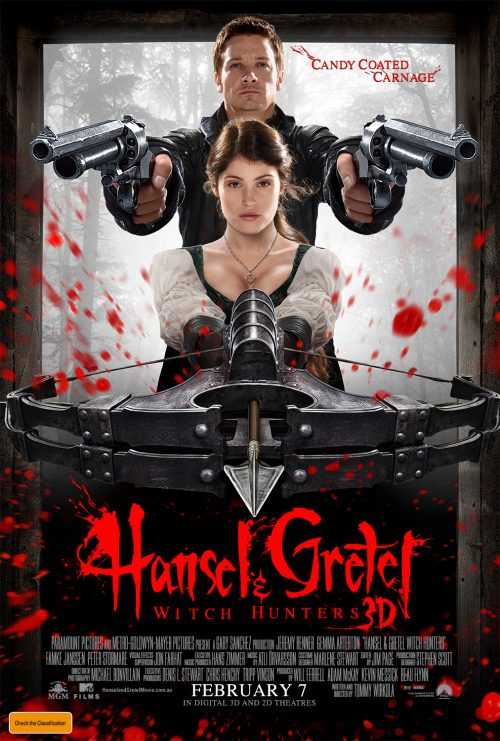 Hansel And Gretel: Witch Hunters Poster Revealed