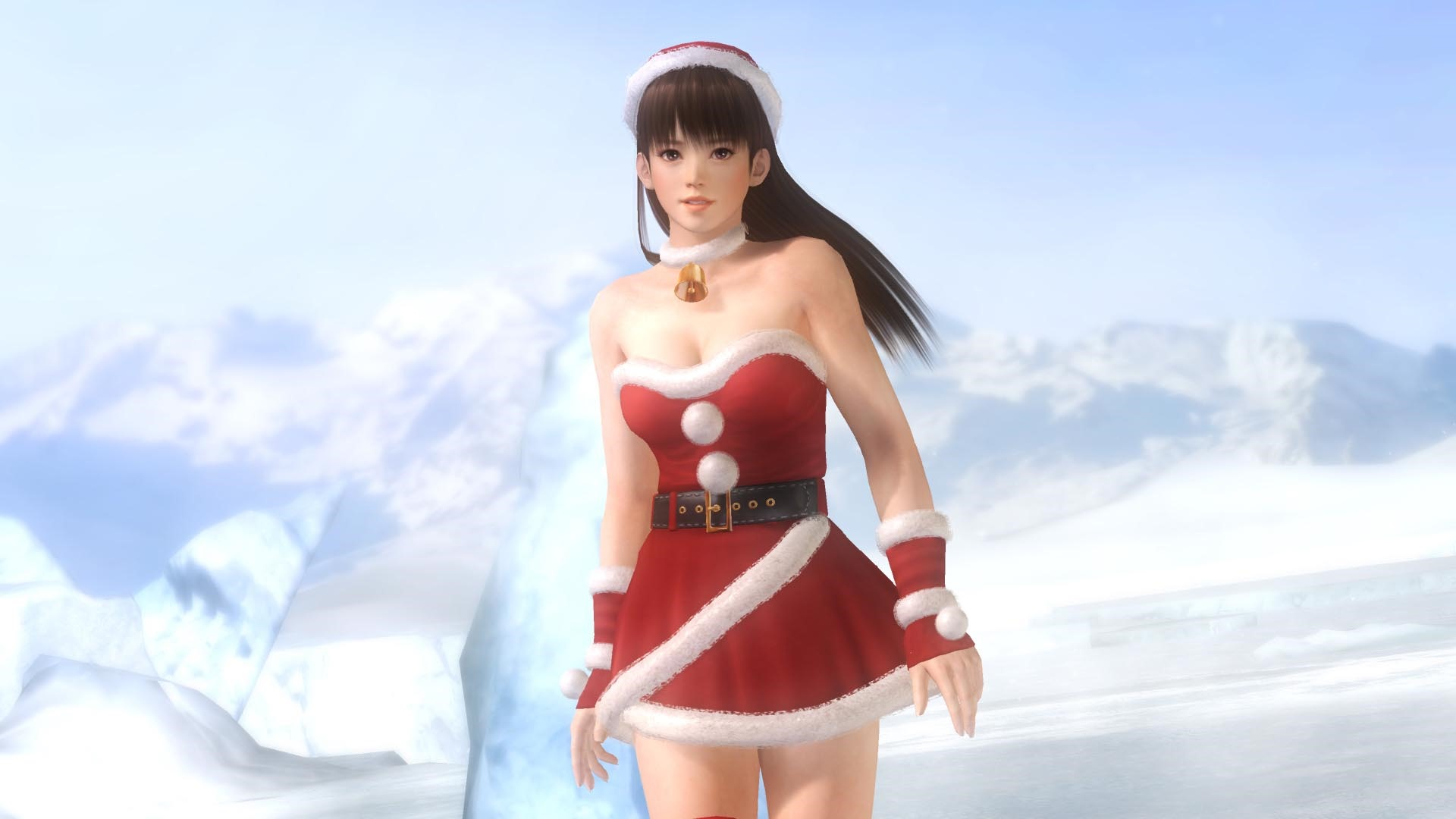sexy santa costumes revealed for dead or alive 5 s. Black Bedroom Furniture Sets. Home Design Ideas