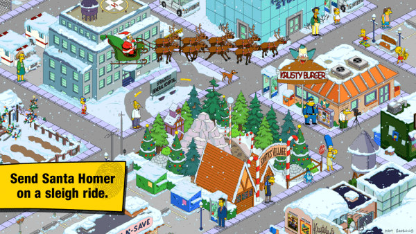 Simpsons Tapped Out Christmas Update 2021 The Simpsons Tapped Out Christmas Update Released Capsule Computers