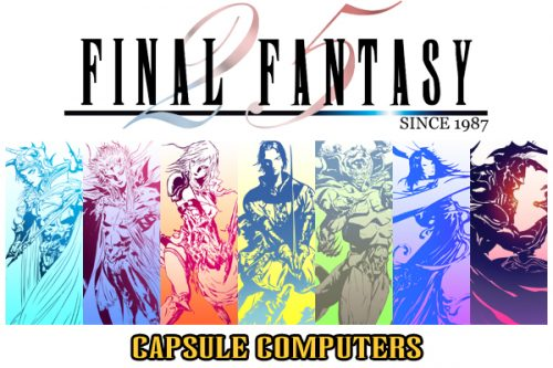 Celebrating 25 years of Final Fantasy