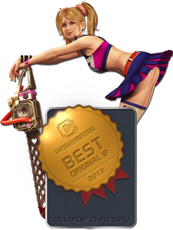 Lollipop-Chainsaw-Badge