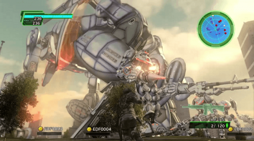 Earth Defense Force 2025 trailer reveals new Air Raider unit