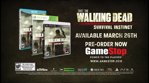 Todo sobre The Walking Dead Survival Instinct (hasta ahora)
