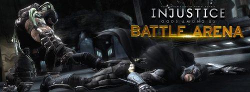 Choose the Champion of Injustice: Gods Among Us' Battle Arena