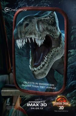 Jurassic-Park-t-rex-mirror-poster