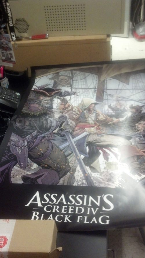 Rumored Assassin's Creed IV: Black Flag poster and screenshot point towards pirates