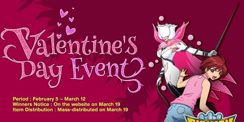 Digimon Masters Post-Valentines Event