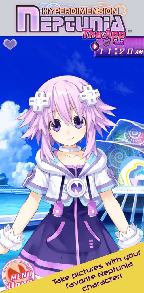 Hyperdimension Neptunia iOS App now available in English