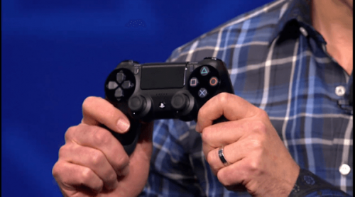 PlayStation 4's controller officially announced and detailed