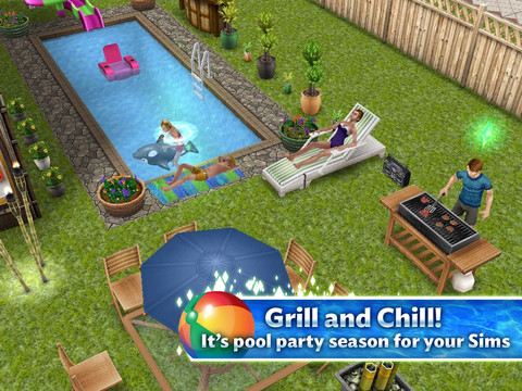 Sims Freeplay Backyard Jpg