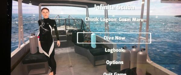 Infinite-scuba-announced