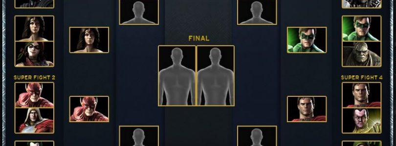 The Quarter-Finals of Injustice: Gods Among Us' Battle Arena are Set
