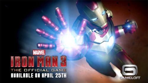 Gameloft announces Iron Man 3 for mobile