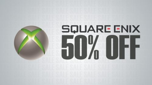 Square Enix holding a massive 50% off sale on Xbox Live
